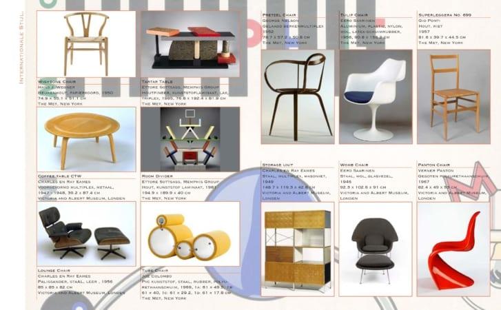 Kunst en meubelgeschiedenis