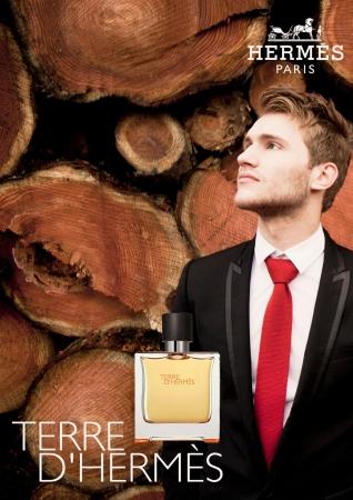Parfum reclame poster