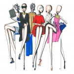 Student Floris van Velsen maakt illustraties voor  Now Fashion