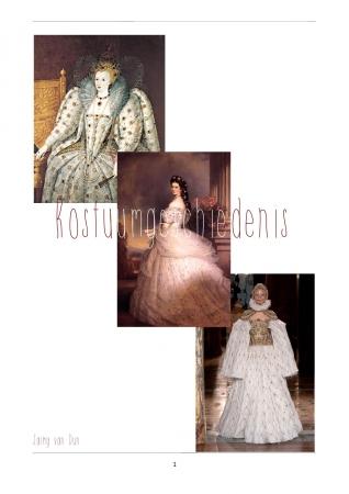 Kunst – en Kostuumgeschiedenis